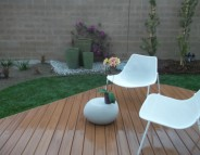 Deck and Landscaping (Irvine project)